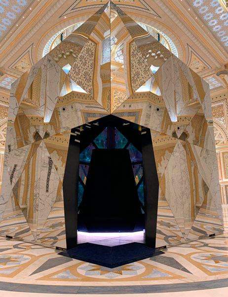 Palacio de la nacion Qasr Al Watan de Abu Dhabi integrado por BGL