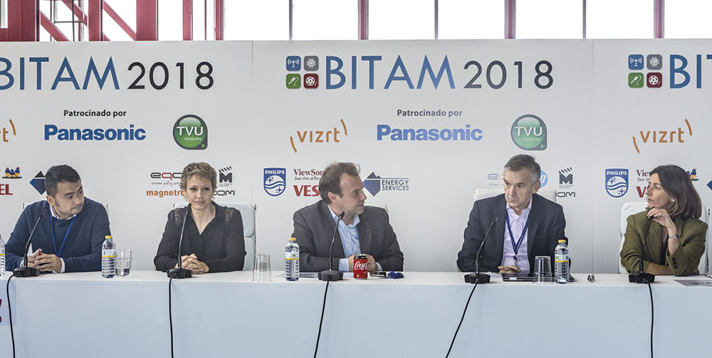 Jornada integracion audiovisual en BITAM Show