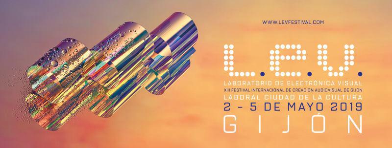 Anuncio de la edición 2019 del festival LEV