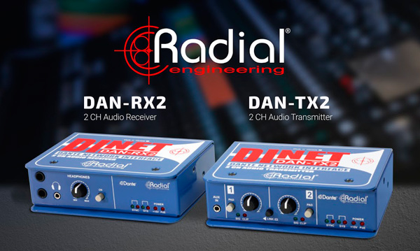 Familia de dispositivos DiNET de Radial