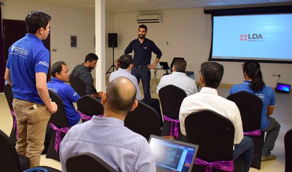 Training de LDA Audio Tech a su colaborador en Emiratos Árabe celebrado en Dubái