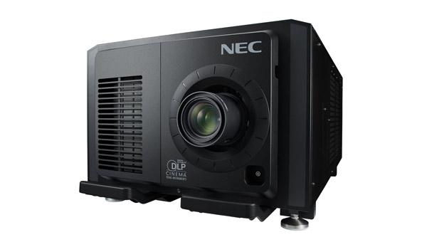 El NC2402ML, un proyector de cine de NEC que cuenta como novedad la inclusión de un sistema de módulos intercambiables