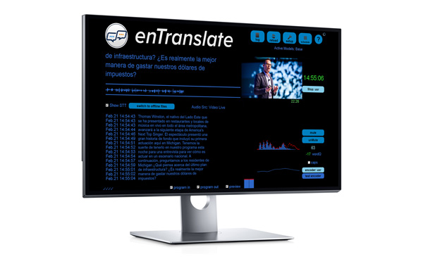 Preview del sistema enTranslate de ENCO