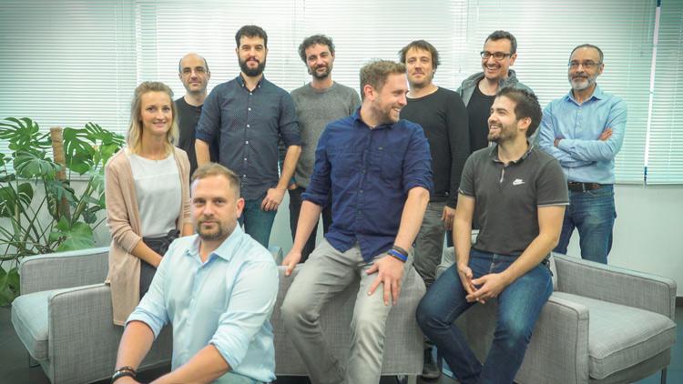 Integrantes del equipo de la compañía LANG IBERIA