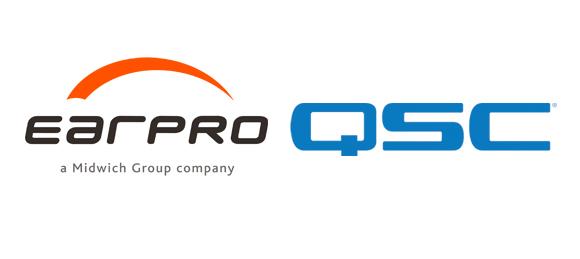 Logotipos de Earpro y QSC