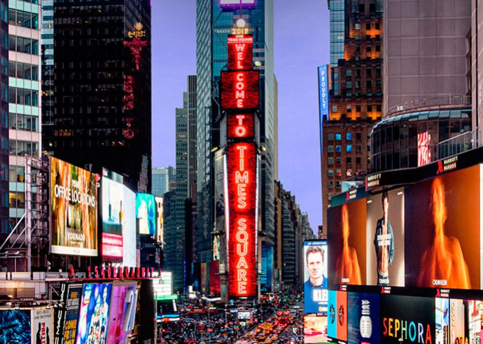 Pantallas-de-Samsung-implementadas-en-Times-Square-Building
