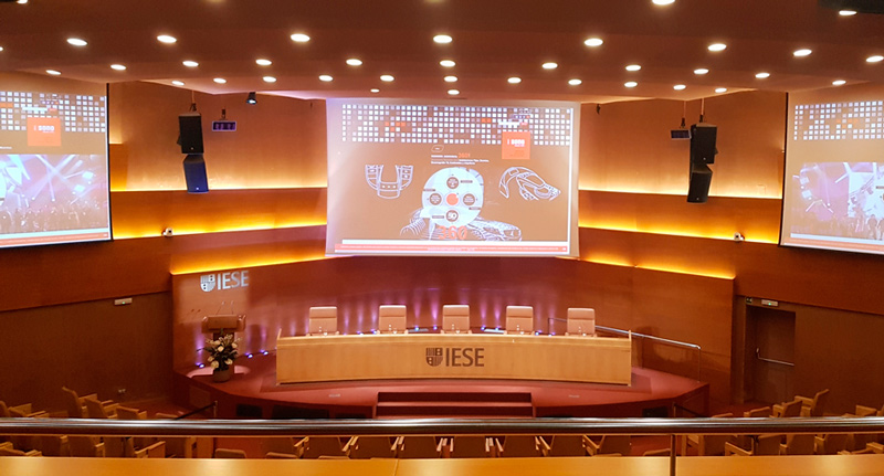 Auditorio del a IESE Business School