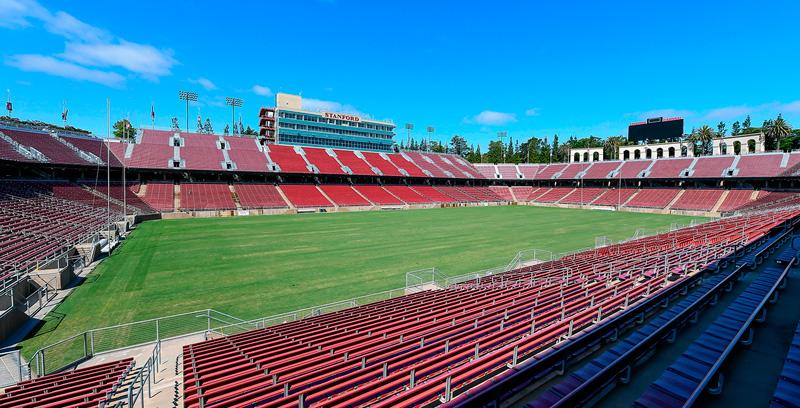 El corazón deportivo de la universidad de Stanford (EE.UU.)
