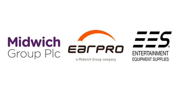 Logos de Midwich, Earpro y EES