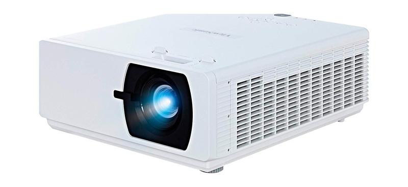 Fotografía lateral del proyector LS800HD de Viewsonic
