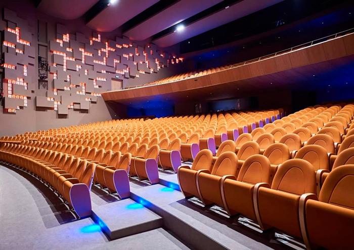 Patio de butacas del teatro de Nicosia