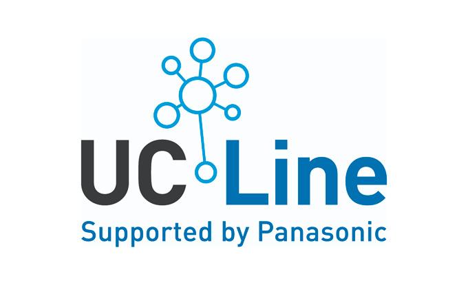 Logo del servicio de Panasonic UC Line