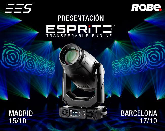 Información del evento de Robe en Madrid y Barcelona organizado por EES