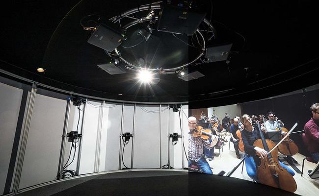 Elementos técnicos utilizados en el espacio de Shared VR de Sennheiser e Igloo Vision
