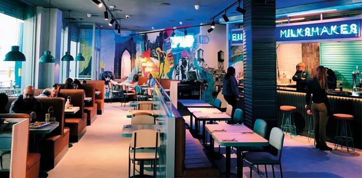 Interior del restaurante Tommy Mels de Las Rozas