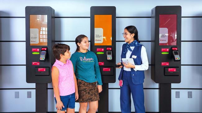 Kioscos digitales integrados por Panasonic México en el Kidzania de Guadalajara