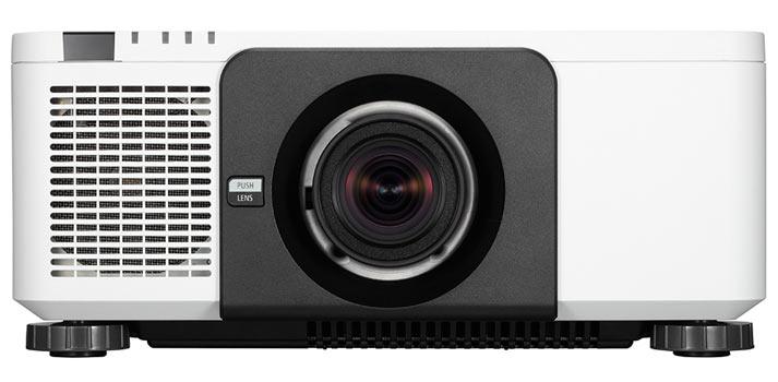 Imagen frontal del proyector NEC PX 1004UL