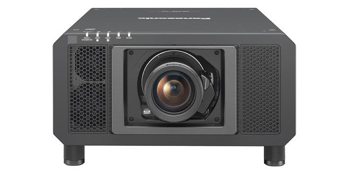 Imagen frontal del proyector Panasonic PT RQ13K