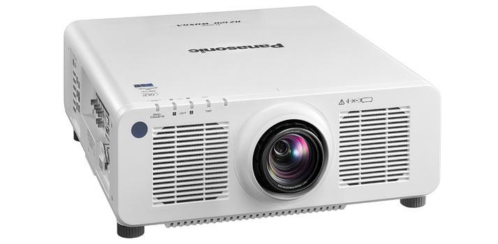 Imagen frontal Proyector Panasonic PT RZ120