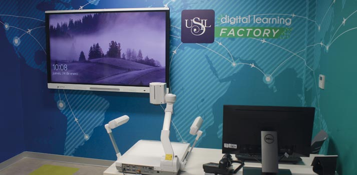 Concepto tecnológico de USIL Digital Learning Factory