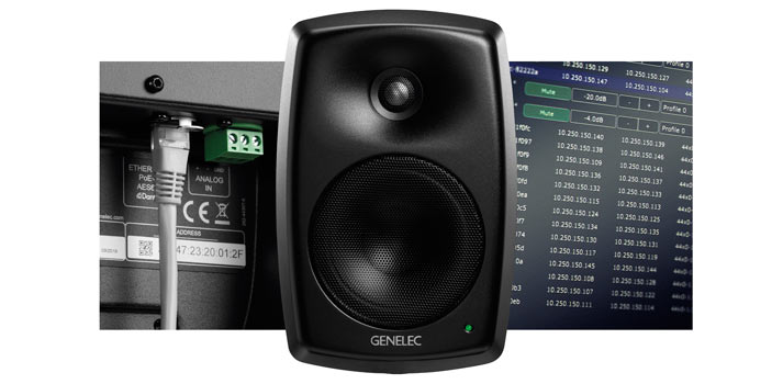 Monitor IP de Genelec modelo 4430