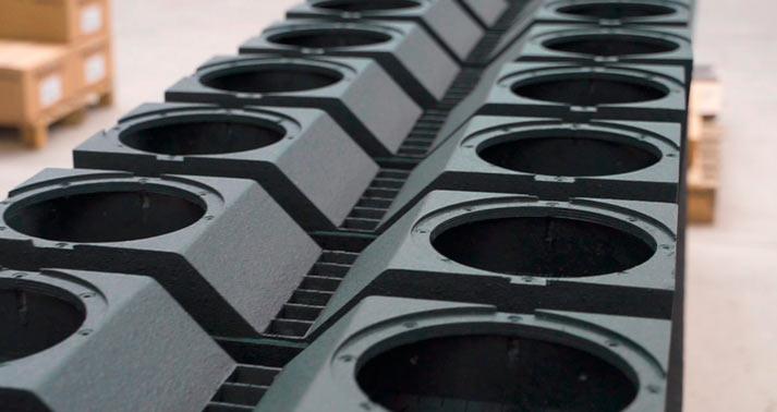 Equipos de sonido de IDEA Pro Audio en montaje