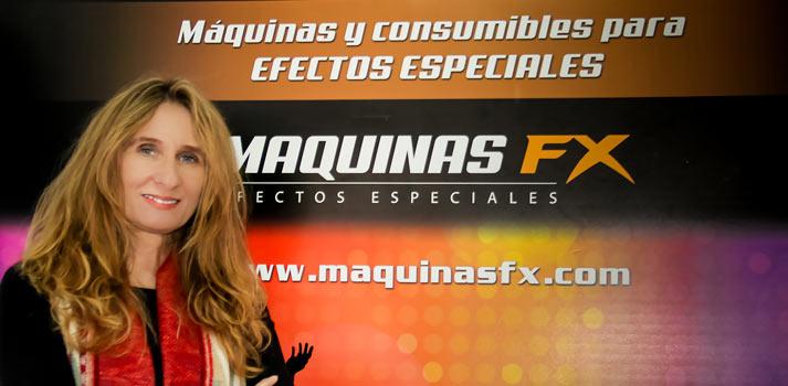 Cristina Trigo, responsable de ventas de Máquinas FX