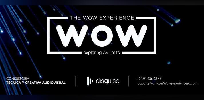 Logo e información básica de Wow Experience