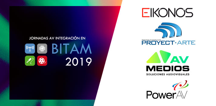 Conferencias AV Integración BITAM 2019 compañías rental