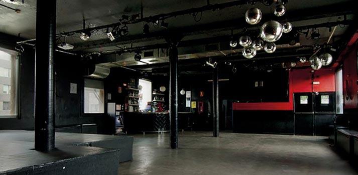 Una de las salas del complejo Razzmatazz de Barcelona