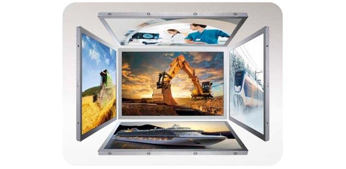 Distintas aplicaciones del nuevo panel TFT con tecnología NFC de Mitsubishi distribuido por Aicox