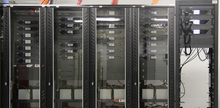 Elementos técnicos que alimentan el sistema de megafonía de IFEMA