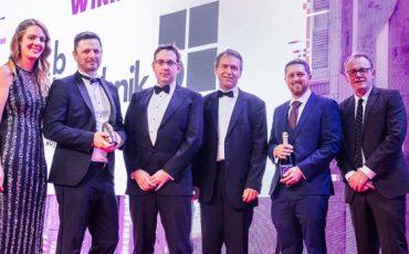 Representantes-de-dbaudio-en-los-AV-Awards-2019