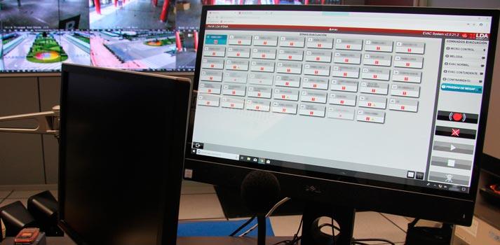 Software de LDA Audio Tech destinado al control de los sistemas de megafonía