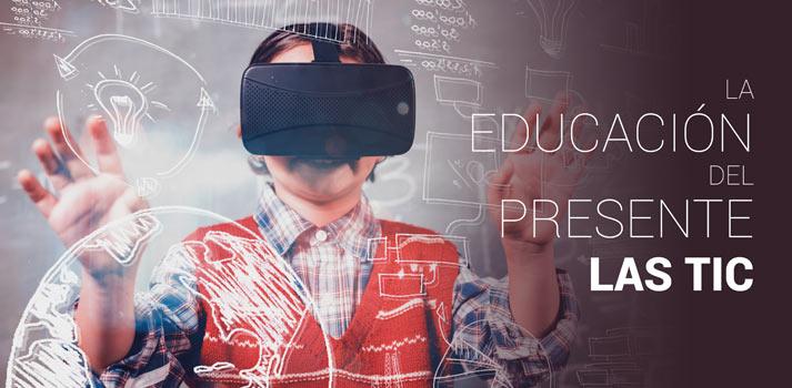 """Apertura de un artículo """"La educación del presente - Las Tic"""""""