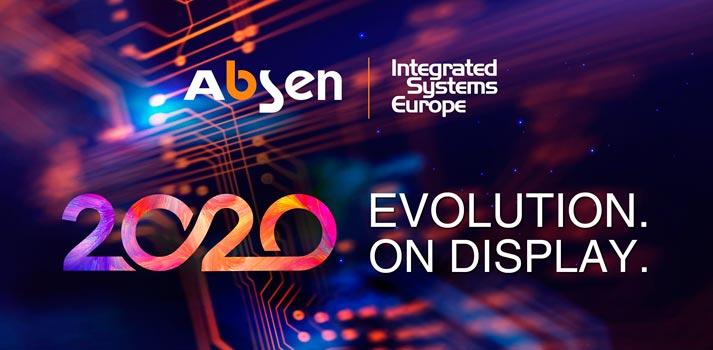 Logotipo de la campaña de Absen para ISE 2020
