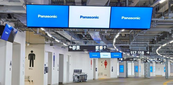 Señalización digital en el Estadio Nacional de Tokyo integrados por Panasonic