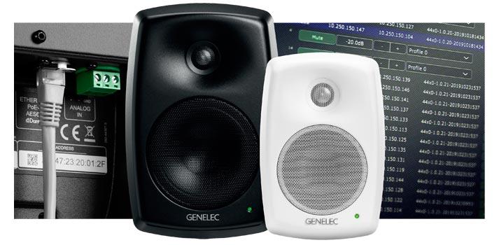 Modelos Smart IP 4420 y 4430 de Genelec