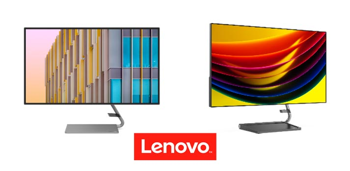 Monitores Lenovo Q27h y Qreator 27