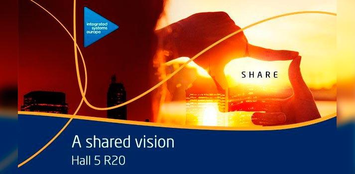 Imagen promocional de NEC para ISE 2020