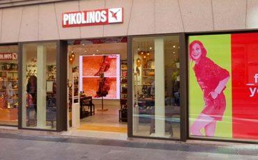 Pantallas-LED-alfalite-en-la-tienda-Pikolinos-preciados-madrid