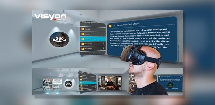Preview del funcionamiento de la tecnología desarrollada por Visyon, empresa del Grupo Mediapro