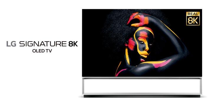 Televisor 8K LG Signature