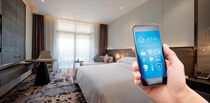 Uso de smartphone en el contexto hotelero
