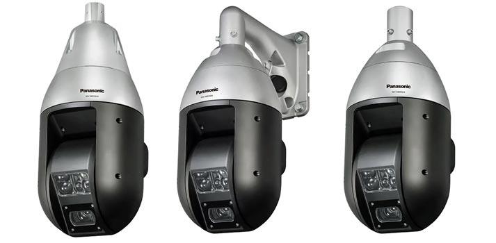 Cámaras de seguridad PTZ de Panasonic modelos WV-X6533LN y WV-S6532LN
