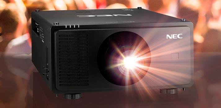El PX2000UL de 20.000 lúmenes es el nuevo proyector de NEC