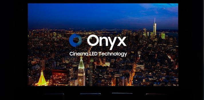 Imagen promocional de las pantallas led para cines Onyx de Samsung