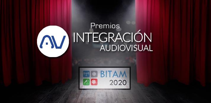 Los premios AV Integración se entregarán en BITAM 2020