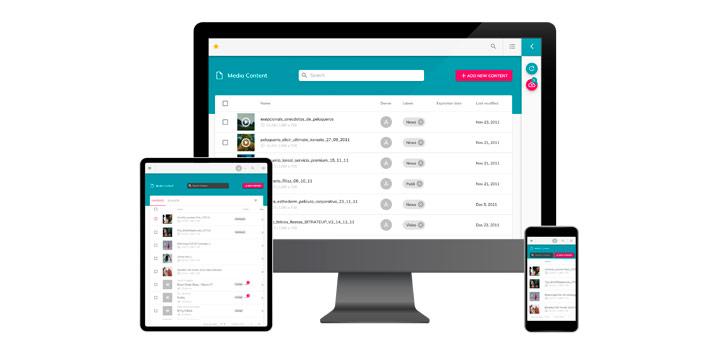 Plataforma Waapiti Manager 3.0 funcionando en distintos dispositivos