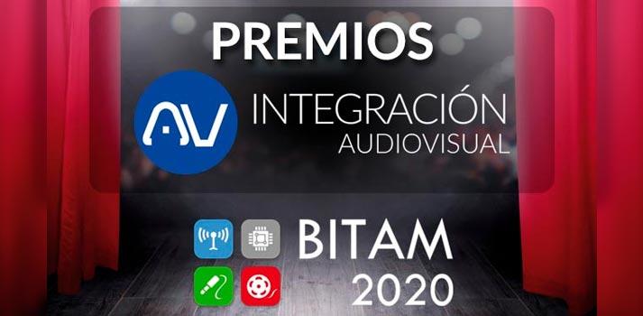 """Anuncio de los nuevos galardones """"Premios AV Integración"""" que serán entregados en BITAM 2020"""